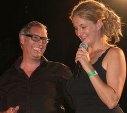 Svenja Köhler und Moderator