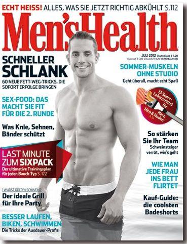 Men's Health 8/2012