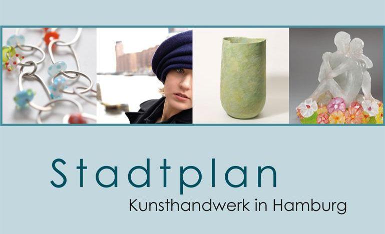 Stadtplan Kunsthandwerk in Hamburg