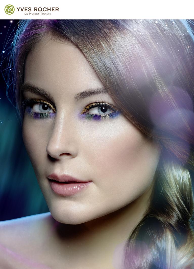 Yves Rocher Make-up Model