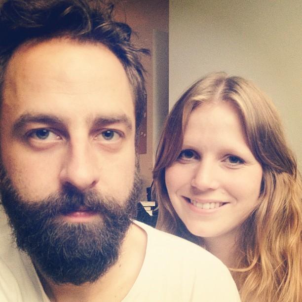 Wolfgang Wopperer und Nicole Beholz