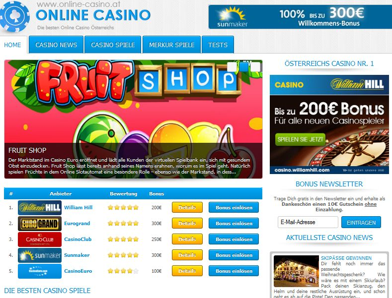 online casino auf rechnung