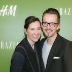 Claudia ten Hoevel, Chefredakteurin Grazia Thorsten Mindermann, H&M Geschäftsleitung