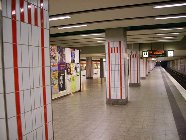U-Bahn Schlump: Bombenangst zum Hamburg-Marathon