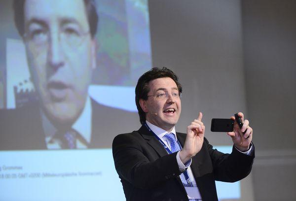 Frank Beckmann, Programmdirektor vom NDR beim newTV Kongress 2013