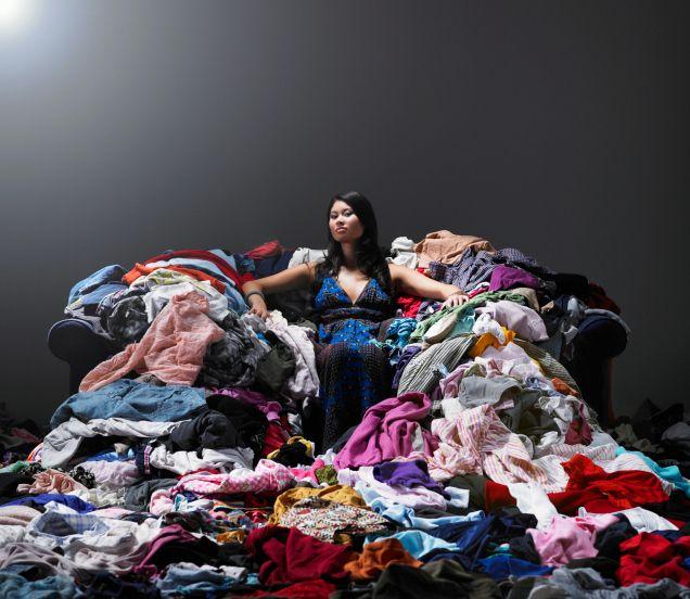 Modestudenten - das Genie überschaut das Chaos