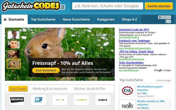 gutscheincodes.de