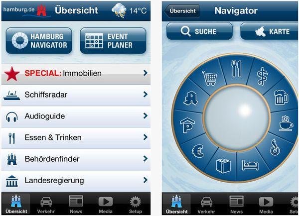 Die Hamburg-App – alles auf einen Blick