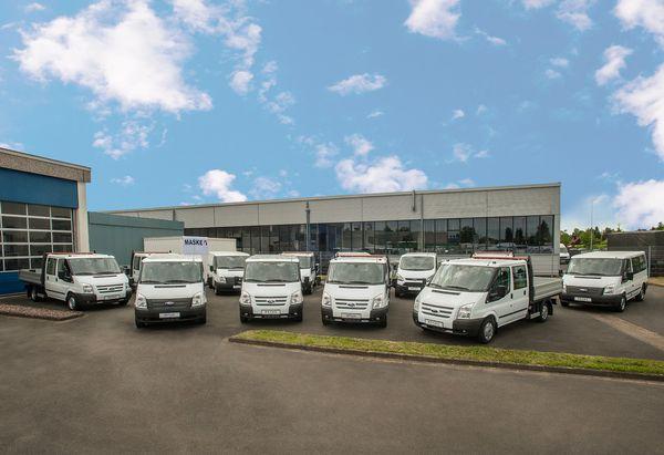 Maske Fleet GmbH hat 100 Ford Transit bestellt