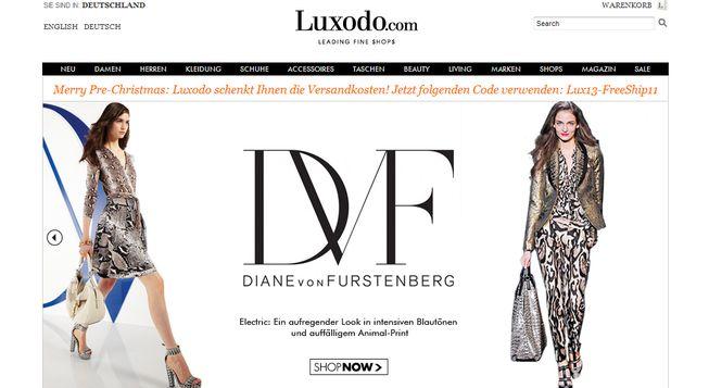Online Luxus Shopping mit Luxodo