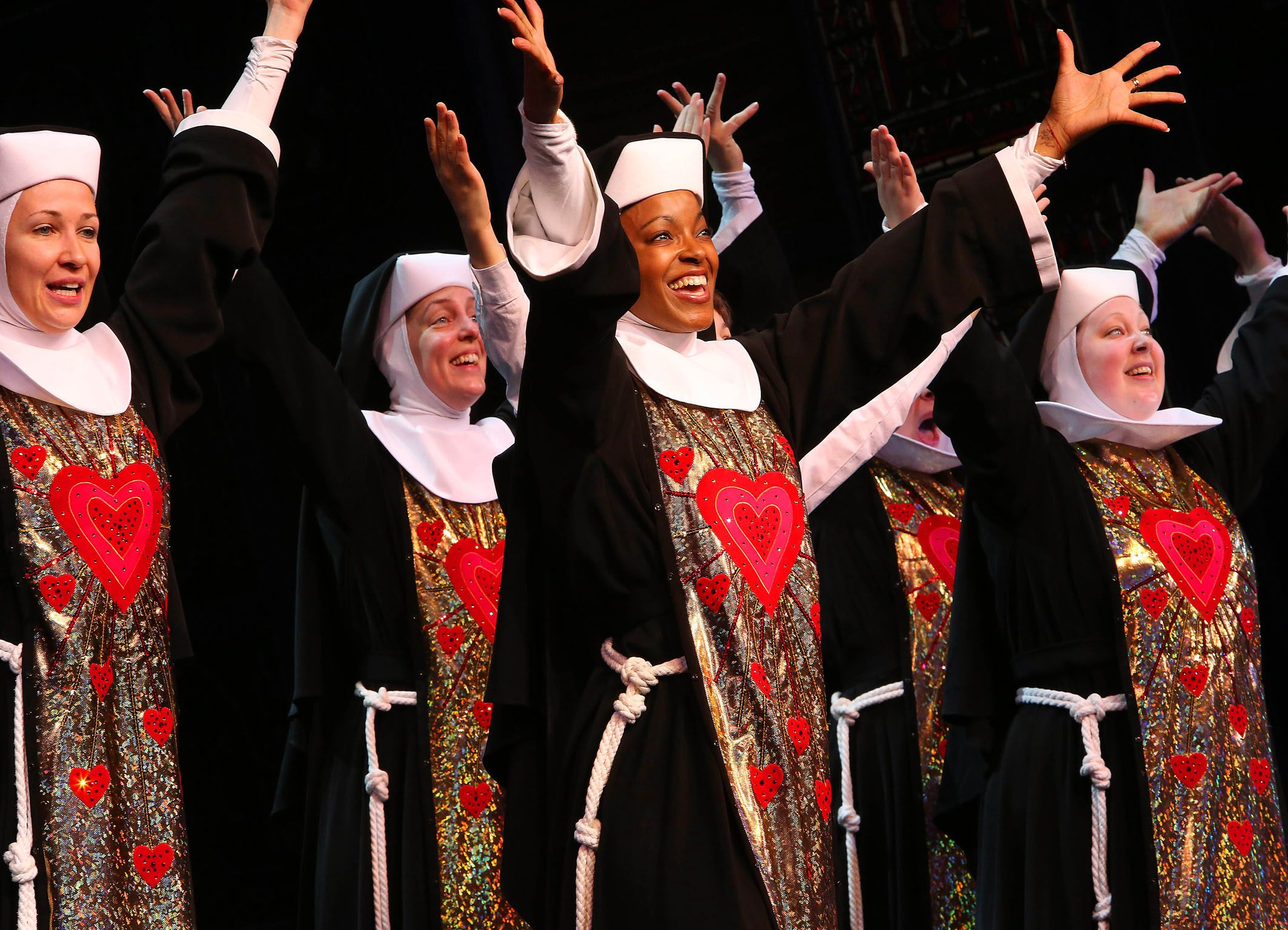 Ein himmlischer Erfolg für das Musical, das auf dem gleichnamigen Kultfilm mit Whoopi Goldberg basiert