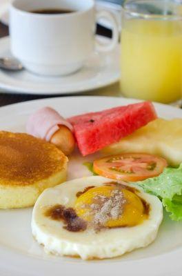 Eier zum Frühstück sind beliebt