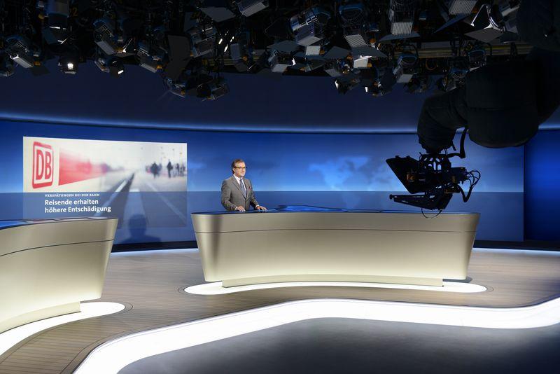 Hamburg: Erste Sendung aus dem neuen Tagesschau-Studio