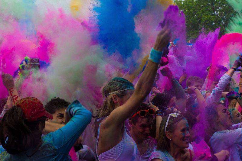 Holi Festival of Colours, Hamburg