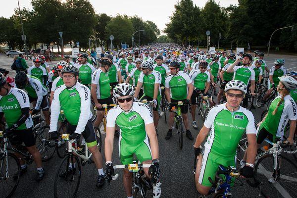 Bei den Vattenfall Cyclassics starten jährlich etwa 22.000 Hobbysportler
