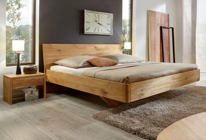 schwebendes designer bett bei wood4u aus stade. Black Bedroom Furniture Sets. Home Design Ideas