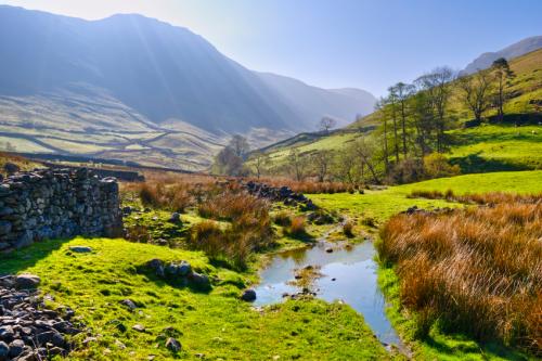 Typische Landschaft im Lake District