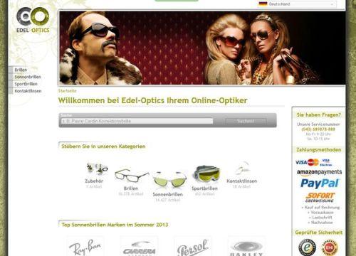 Edel Optics - der OnlineOptiker in Hamburg