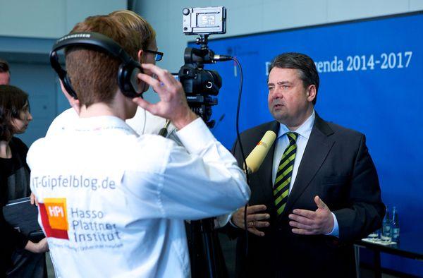 Auch ein Gespräch mit Bundeswirtschaftsminister Sigmar Gabriel ist geplant.