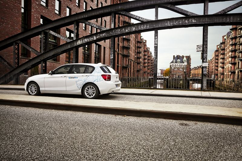 BMW 1er, DriveNow