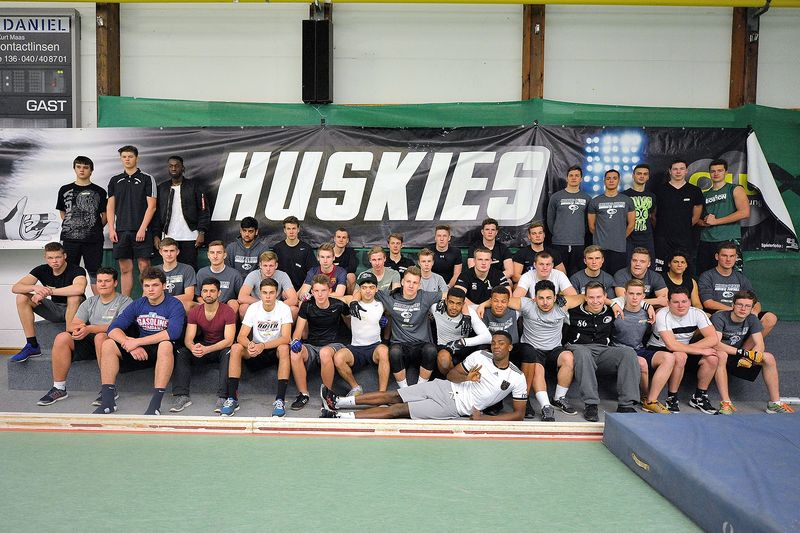 TryOut der Hamburg Young Huskies