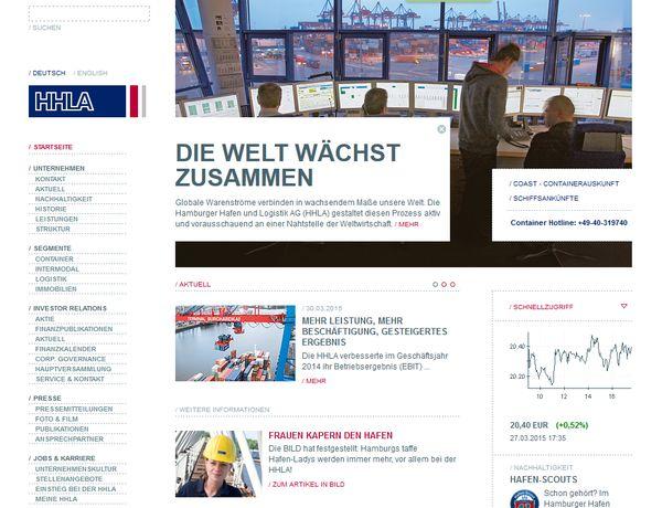 Der Hamburger Hafen ist generell der wichtigste Arbeitgeber der Hansestadt Hamburg