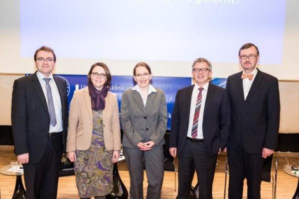 Referentengruppe beim 17. Eppendorfer Dialog zur Gesundheitspolitik