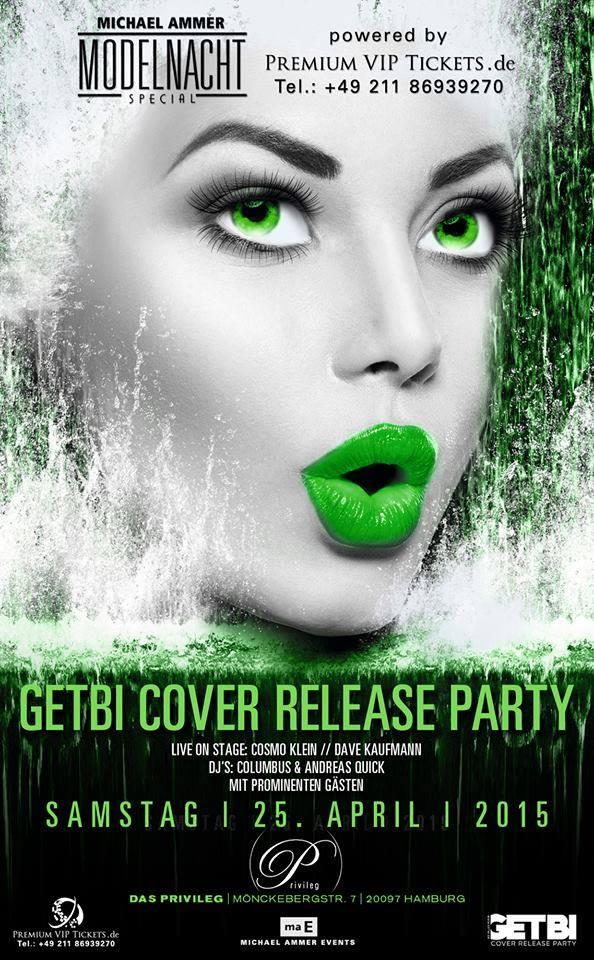 Getbi Cover-Release und Modelnacht Special, Hamburg