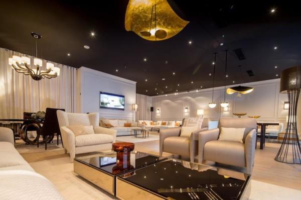 Showroom Eröffnung Fendi Casa und Trussardi Home bei Bornhold - Die Einrichter