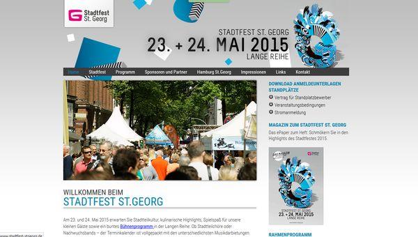 Am kommenden WE steht das Stadtteilfest St. Georg an