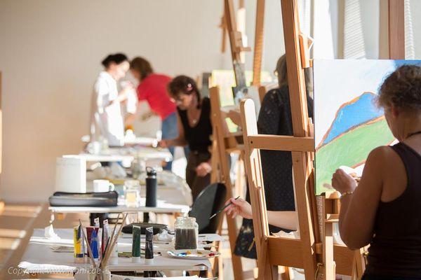 Malen lernen kann jeder! Kunstkurse an der FKAHH