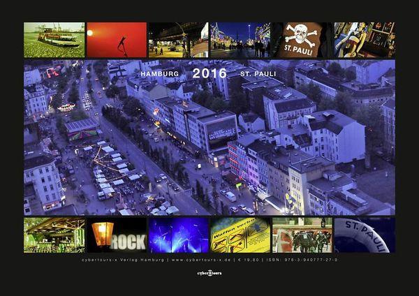 Fotokalender Hamburg - St. Pauli 2016