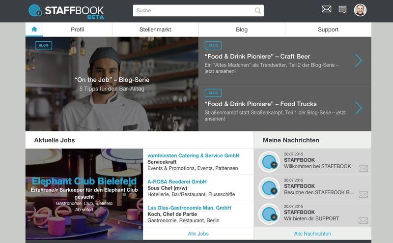 Gastronomie und Hotellerie: Jobs mit Staffbook