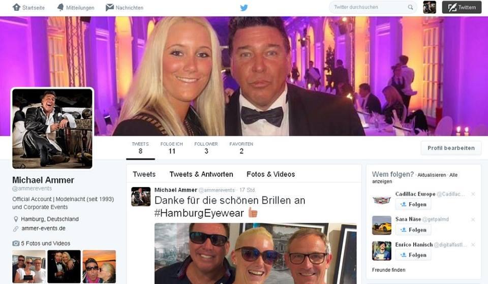 Michael Ammer mit neuen Accounts bei Twitter und Instagram