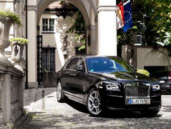 Premiumzimmer buchen und Rolls-Royce fahren - im Schlosshotel Im Grunewald