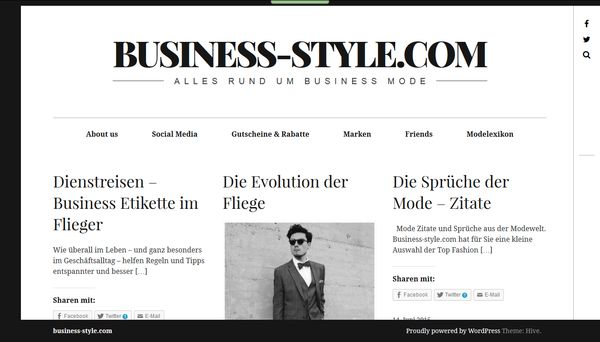 Screenshot Business-Style.com