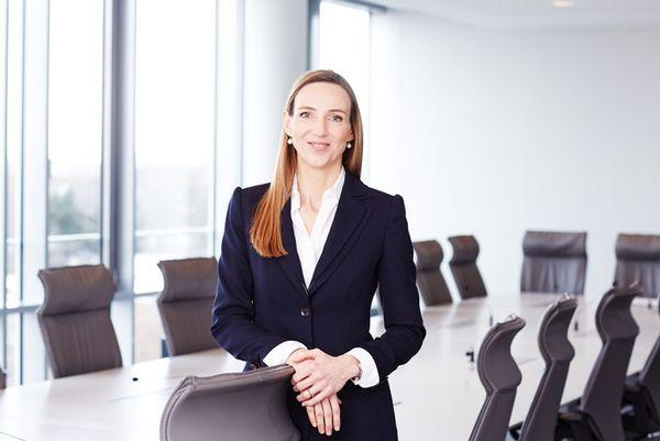 Simone Bagel-Trah, Vorsitzende des Aufsichtsrats und des Gesellschafterausschusses Henkel AG & Co. KGaA und Mitglied des Kuratoriums von Deutschland rundet auf