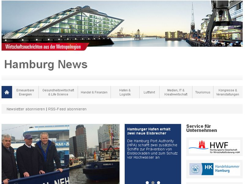"""Hamburg News"""