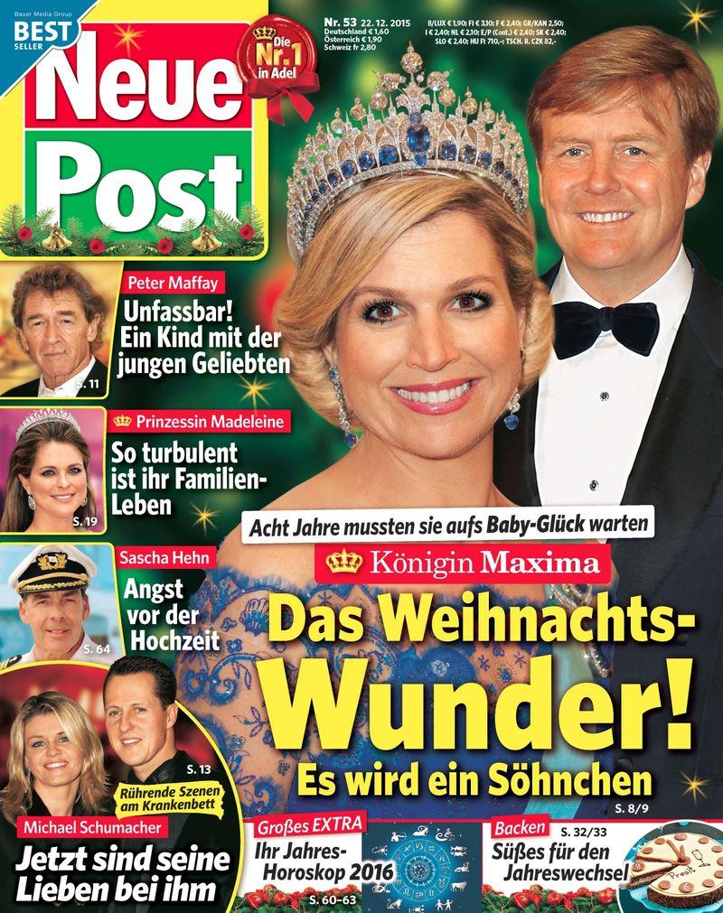 Cover Neue Post, Ausgabe 53