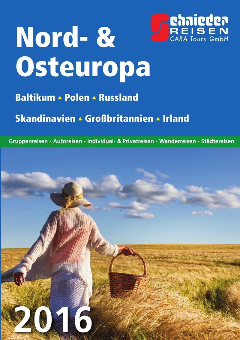 Schnieder Reisen: Neue Reisen für Nord- und Osteuropa