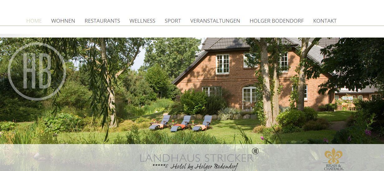 Golf-Special 2016 im Landhaus Stricker