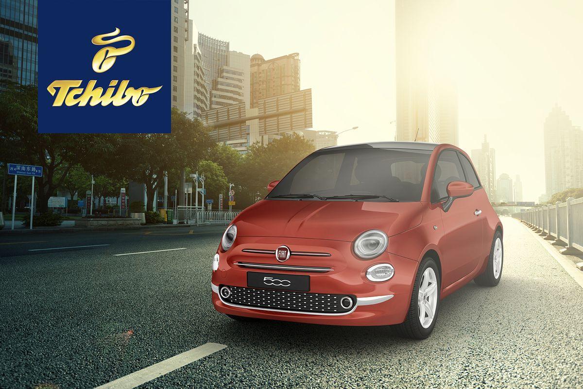 """Fiat 500 """"Pop Star"""" in der Tchibo Auktion"""