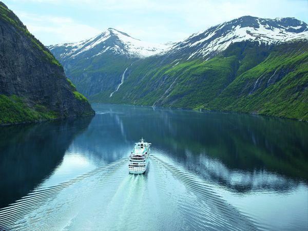 Mit AIDAaura zu den schönsten Destinationen in Nordeuropa