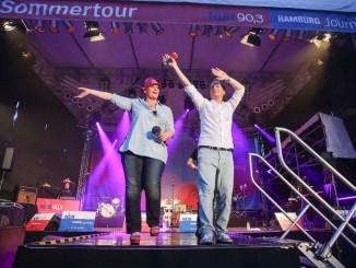 Anke Harnack und Christian Buhk moderieren die Sommertour