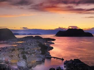 Die Norwegische Jugendstilstadt