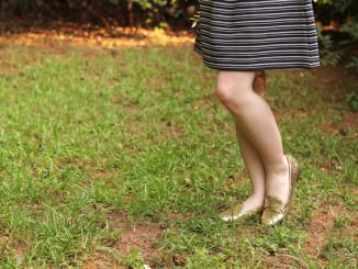 In Sachen Fashion immer up to date, die Frau von heute