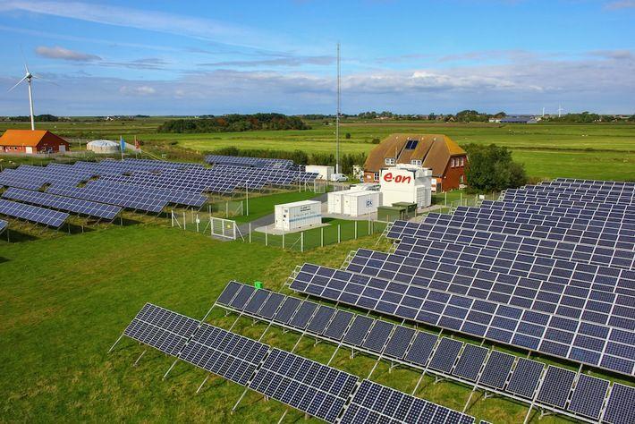 Speicher für erneuerbare Energien