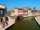 Das malerische Zentrum von Comacchio