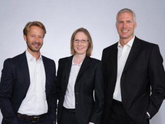 Entwicklung durch Firmengründung: Matthias Fritsch, Kirsten Feldmann und Jan Petersen