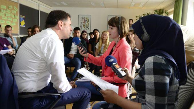 """""""NDR Summer School"""" für junge Erwachsene mit Migrationshintergrund in Hannover gestartet"""